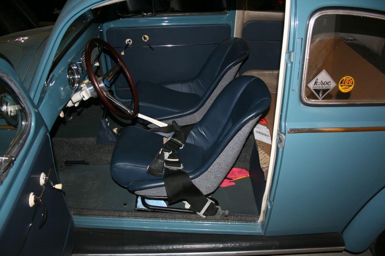 Porsche 356 Speedster Fiberglass Bucket Seats